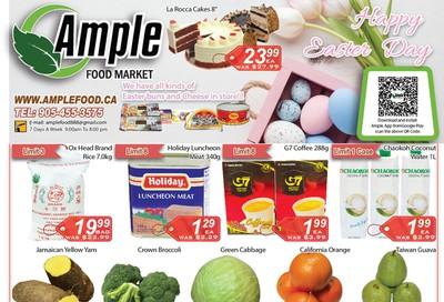 Ample Food Market Flyer April 3 to 9