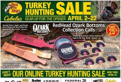 Bass Pro Shops Weekly Ad & Flyer April 2 to 22