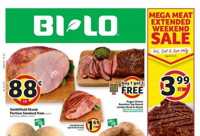 BI-LO Weekly Ad & Flyer April 1 to 7