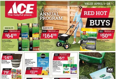 ACE Hardware Weekly Ad & Flyer April 1 to 28