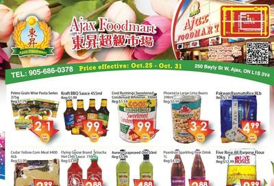 Ajax Foodmart Flyer October 25 to 31