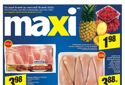 Maxi Flyer April 9 to 15