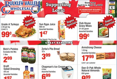 Bulkley Valley Wholesale Flyer April 8 to 15