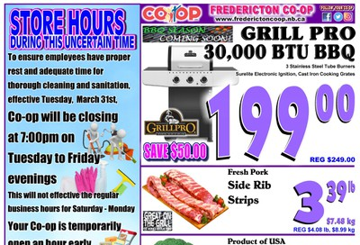 Fredericton Co-op Flyer April 9 to 15