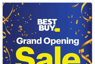 Best Buy Grand Opening Sale Flyer October 25 to 27