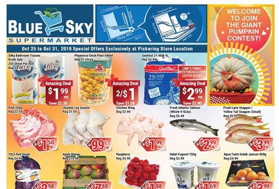 Blue Sky Supermarket (Pickering) Flyer October 25 to 31