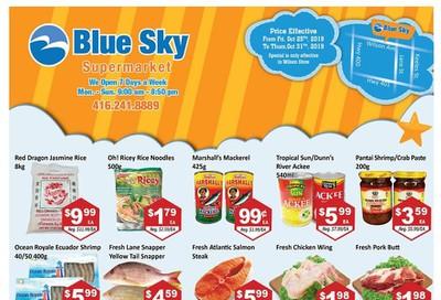 Blue Sky Supermarket (North York) Flyer October 25 to 31