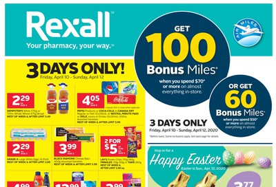 Rexall (West) Flyer April 10 to 16