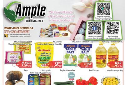 Ample Food Market Flyer April 10 to 16