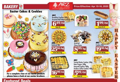 Arz Fine Foods Flyer April 10 to 16