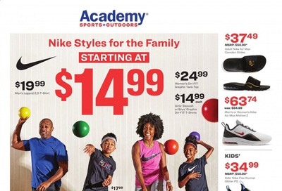 Academy Sports Weekly Ad & Flyer April 13 to 19