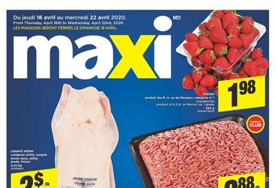 Maxi Flyer April 16 to 22