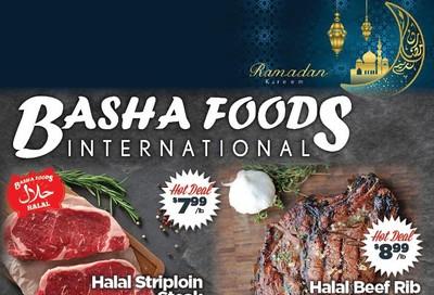 Basha Foods International Flyer April 16 to 26