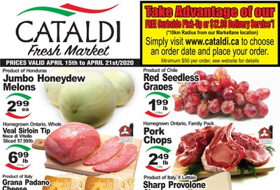 Cataldi Fresh Market Flyer April 15 to 21