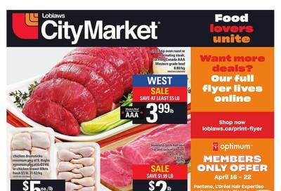 Loblaws City Market (West) Flyer April 16 to 22