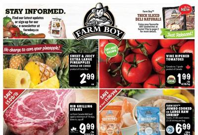 Farm Boy Flyer April 16 to 22