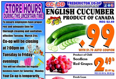 Fredericton Co-op Flyer April 16 to 22