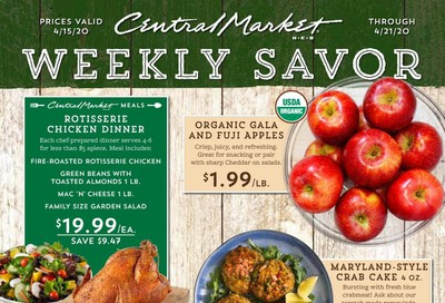 Central Market Weekly Ad & Flyer April 15 to 21