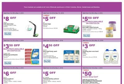 Costco (BC, AB, SK and MB) Weekly Savings October 28 to November 3