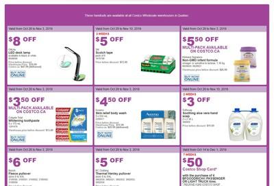 Costco (QC) Weekly Savings October 28 to November 3