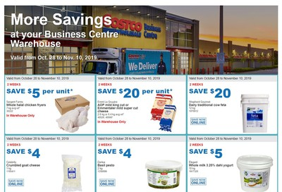 Costco Business Centre (Scarborough, ON) Instant Savings Flyer October 28 to November 10