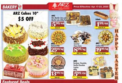 Arz Fine Foods Flyer April 17 to 23