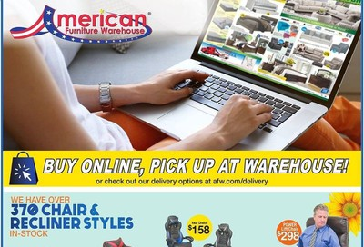 American Furniture Warehouse Weekly Ad & Flyer April 19 to 25