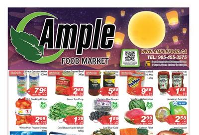 Ample Food Market Flyer September 6 to 12