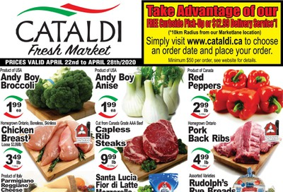 Cataldi Fresh Market Flyer April 22 to 28