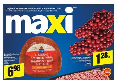 Maxi Flyer October 31 to November 6