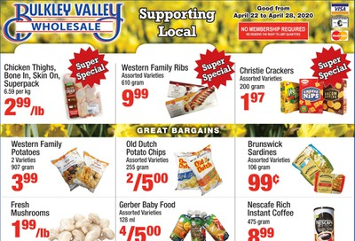 Bulkley Valley Wholesale Flyer April 22 to 28