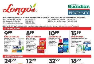 Longo's Pharmacy Flyer October 30 to November 26