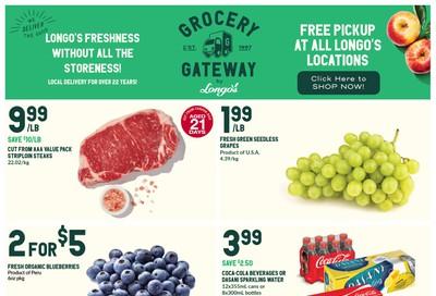 Longo's Grocery Gateway Flyer October 30 to November 5