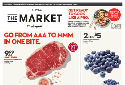 The Market by Longo's Flyer October 30 to November 5