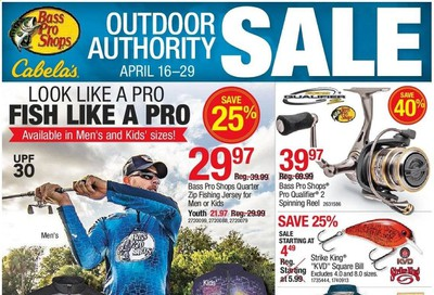 Bass Pro Shops Weekly Ad & Flyer April 16 to 29