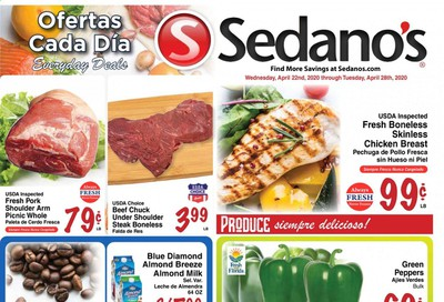 Sedano's Weekly Ad & Flyer April 22 to 28