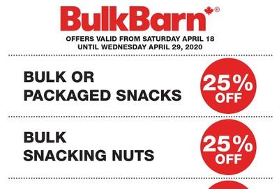 Bulk Barn Flyer April 18 to 29