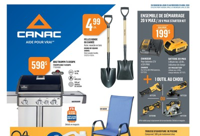 Canac Flyer April 23 to 29