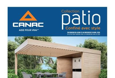 Canac Patio Flyer April 23 to 29