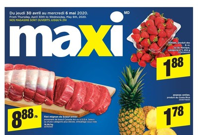 Maxi & Cie Flyer April 30 to May 6
