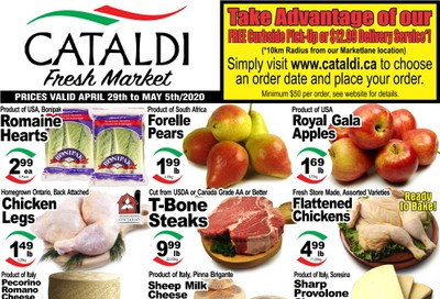 Cataldi Fresh Market Flyer April 29 to May 5