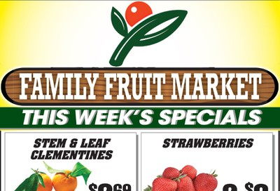 Family Fruit Market Flyer October 30 to November 1