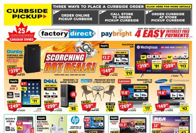 Factory Direct Flyer April 29 to May 5