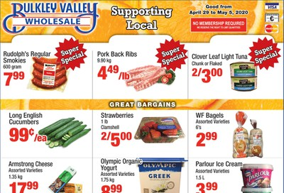 Bulkley Valley Wholesale Flyer April 29 to May 5