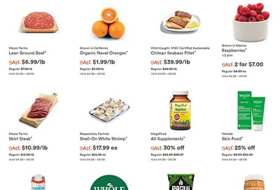 Whole Foods Market (West) Flyer April 29 to May 5
