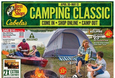 Bass Pro Shops Weekly Ad & Flyer April 30 to May 13
