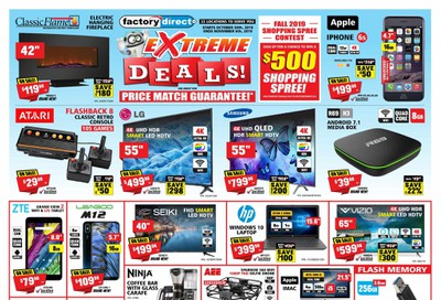 Factory Direct Flyer October 30 to November 6