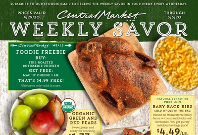 Central Market Weekly Ad & Flyer April 29 to May 5
