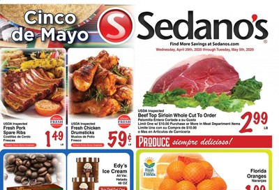 Sedano's Weekly Ad & Flyer April 29 to May 5