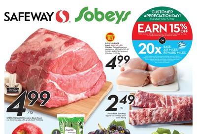 Sobeys (West) Flyer October 31 to November 6